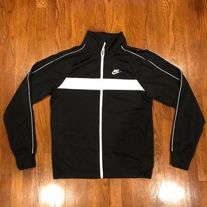 Nike Track Jacket Sweater Polyester Sz Small